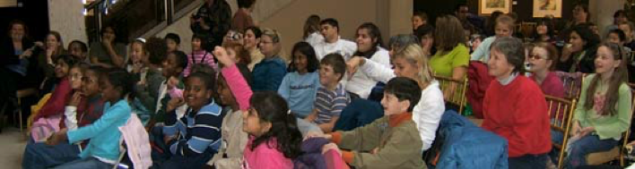 Abilities Arts Festival 2006 held November 1, 2006 was all about children and youth.