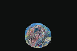 An image of an abstract globe like image