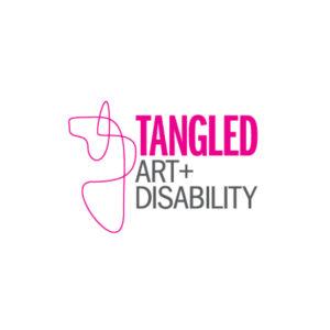 Tangled Art + Disability Logo
